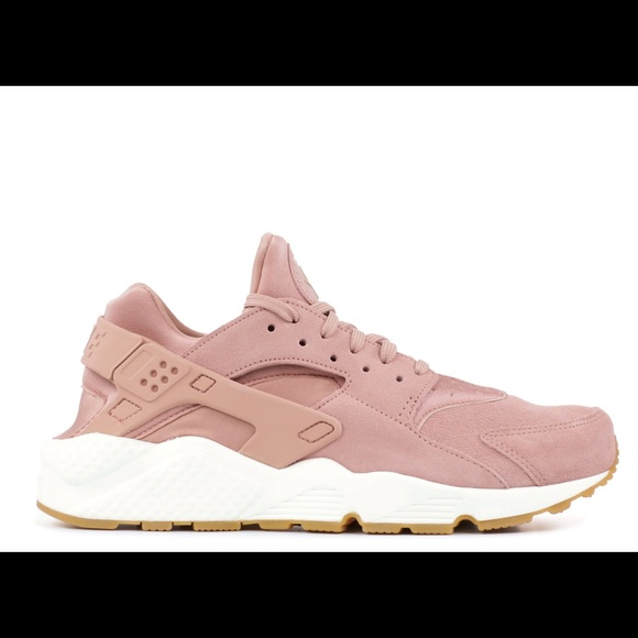 sports shoes 275c5 bb45d Women's Nike Air Huarache SD Particle Pink Suade